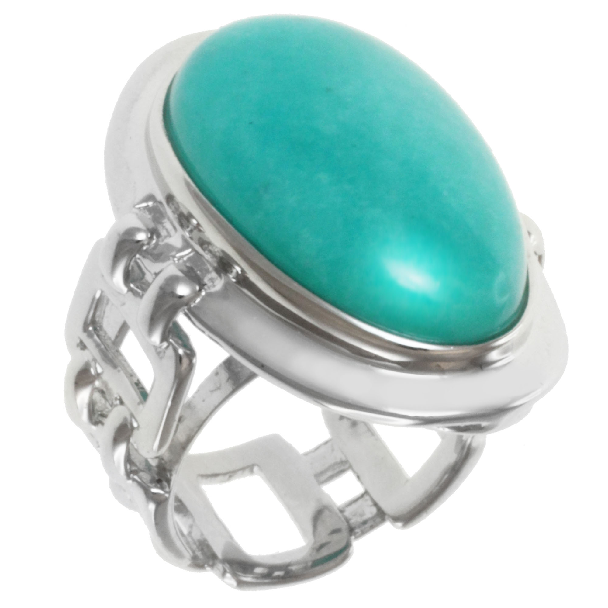 calo yellow gold in silver amazonite sterling pastel plated sterl ring rings